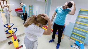afecțiuni vizate de kinetoterapie la copii